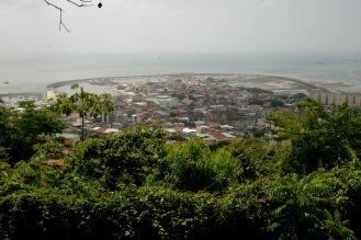 Blick vom Ancon Hill auf Panama Stadt