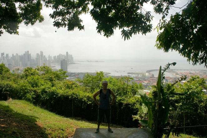 Auf dem Ancon Hill in Panama Stadt