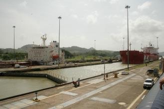 Panamakanal in Panama Stadt