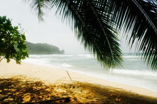 Einsamer Strand auf Bastimentos