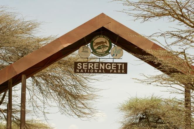 Eingang zur Serengeti - wir sind aufgeregt!