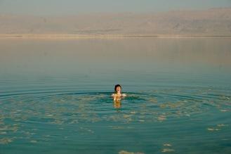 Und wieder: Lachflash im Toten Meer