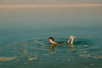Lachflash im Toten Meer