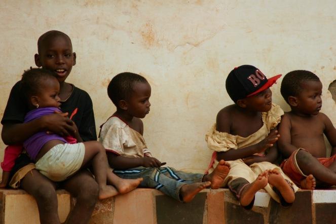 Kinder auf Sansibar