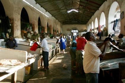 Fischmarkt auf Sansibar