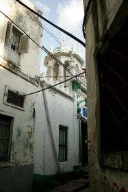 Moschee in den Gassen Stone Towns
