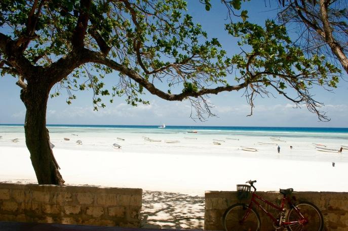 Perfekter Strand auf Sansibar
