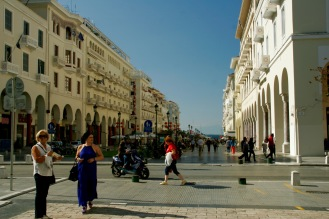 Promenade in Thessaloniki
