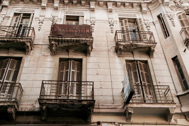 Architektur in der Altstadt Ladadika