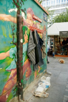 Wall of Kindness in Thessaloniki