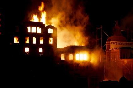 100 jähriges Jubiläum des großen Feuers