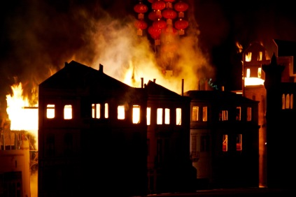 100 jähriges Jubiläum des großen Feuers in Thessaloniki