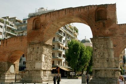 Typische Architekturformen in Thessaloniki