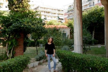 Kleiner Garten von der Rotunde