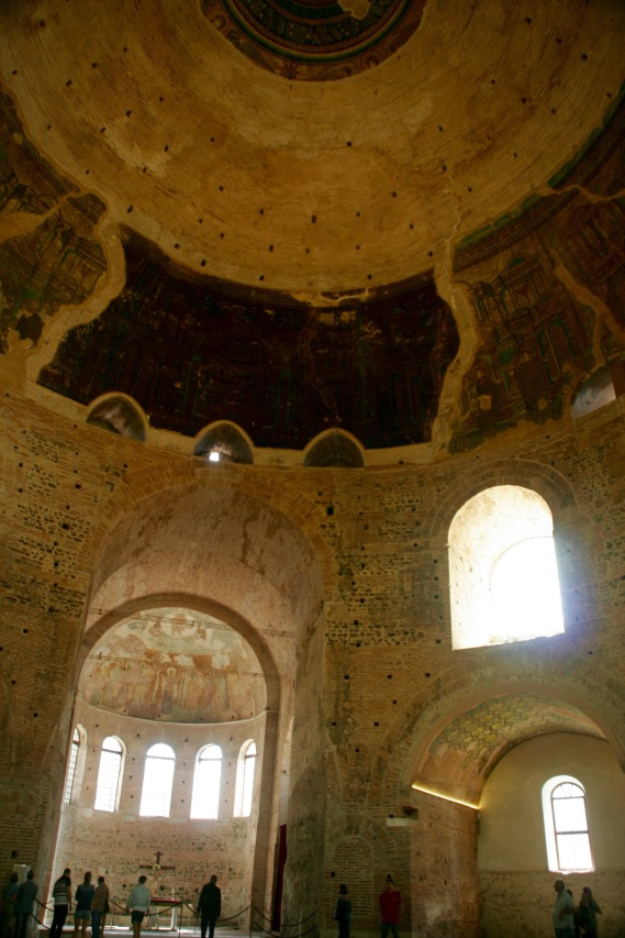 Wunderschöner Klangkörper - Rotunde in Thessaloniki