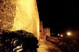 Stadtmauer in Ano Poli