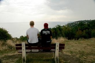 Aussicht von der Burg Platamon