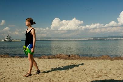 Am Strand in Neo Epivates