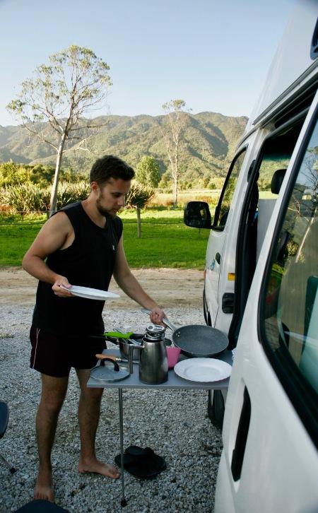 """""""Haushalt"""" im Abel Tasman"""