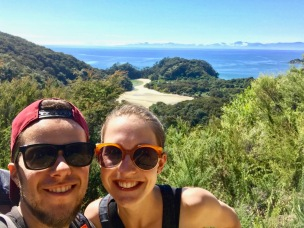 Tolle Wanderung durch den Abel Tasman