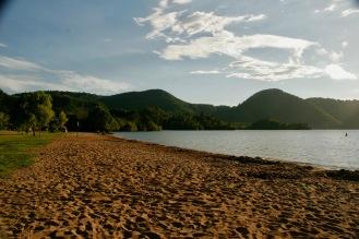 Tolle erste Campernacht am See