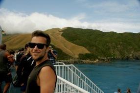 Fährüberfahrt in Neuseeland