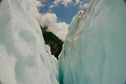 Farbenpracht am Franz Josef Gletscher