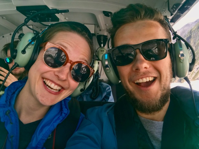 Adrenalin im Hubschrauber