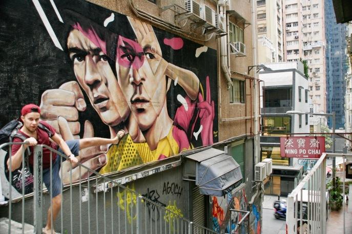 Street Art in Hong Kongs Gassen