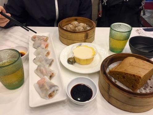 Dim Sum Frühstück in Hong Kong