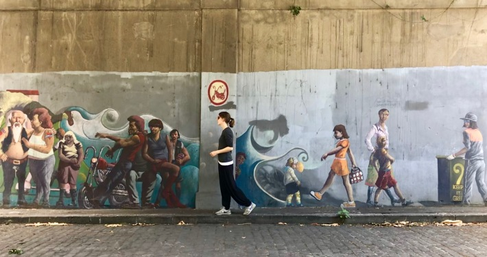 Street Art in Auckland