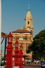 Kolonialgebäude in Auckland