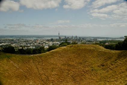 Blick über die ganze Stadt - Auckland