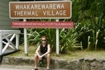 Ja das ist der Name des Maori-Dorfes