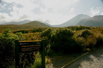 Startschuss zum Tongariro Crossing