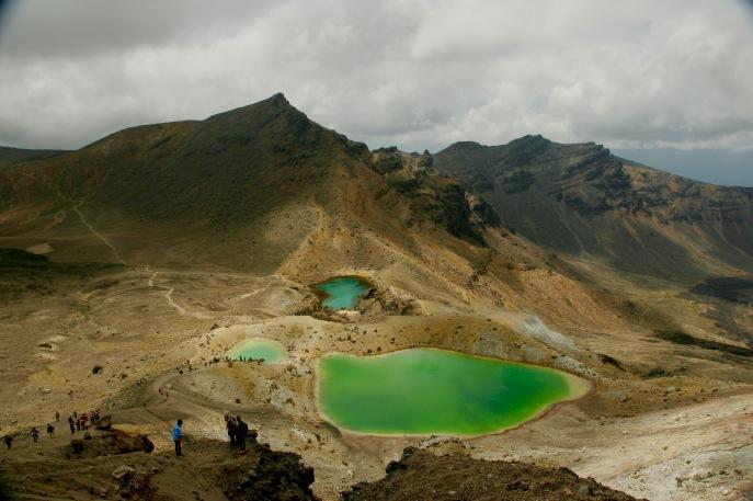 Die wunderschönen Emerald Lakes