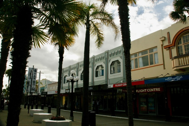 Art Deco in Napier, Neuseeland