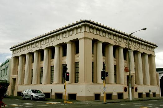 Art Deco Architektur in Napier