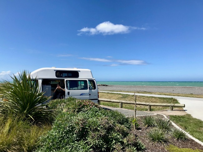 Toller Campingspot in Napier