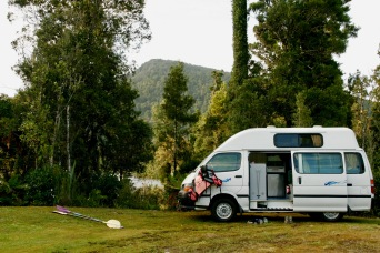 Toller Campingspot am Lake Paringa