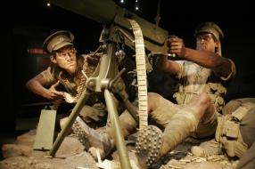 Gallipoli Ausstellung im Te Papa Tongarewa Museum