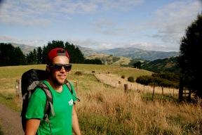 Wanderung zum Stony Peak Bay in Akaroa