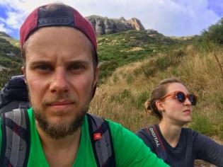 Harte Wanderung im Umland Akaroas