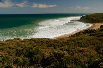 Blick über den Bells Beach