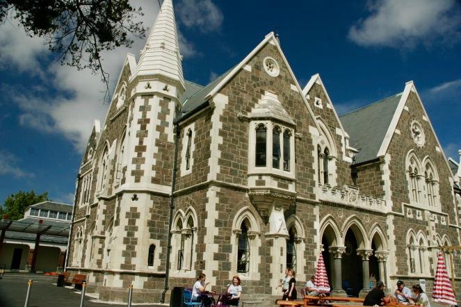 Gebäude in Christchurch