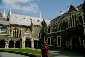 Spaziergang durch Christchurch's botanischen Garten