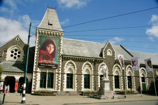 Canterbury Museum von außen