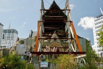 Christchurch - Erinnerung an das Erdbeben 2011