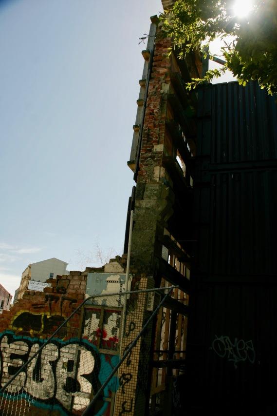Zerstörte Gebäude in Christchurch