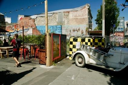Pop Up Bars und Restaurants im zerstörten Christchurch